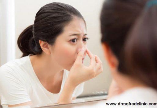 علت سفت شدن نوک بینی بعد از عمل چیست ؟